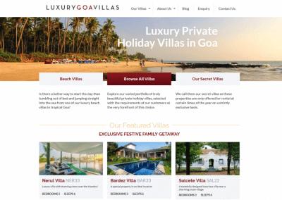 Luxury Goa Villas